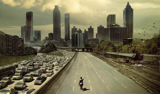 The Walking Dead, Atlanta, Georgia