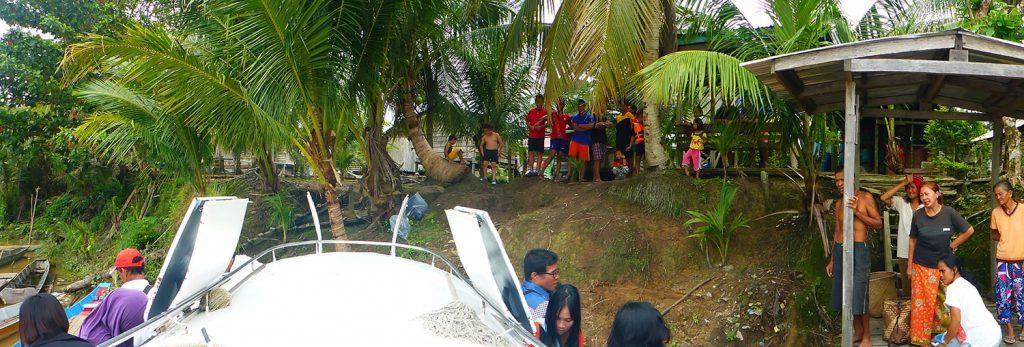 Small Village Drop-Off via Pejang River